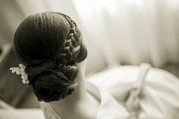 Peluquería para la novia