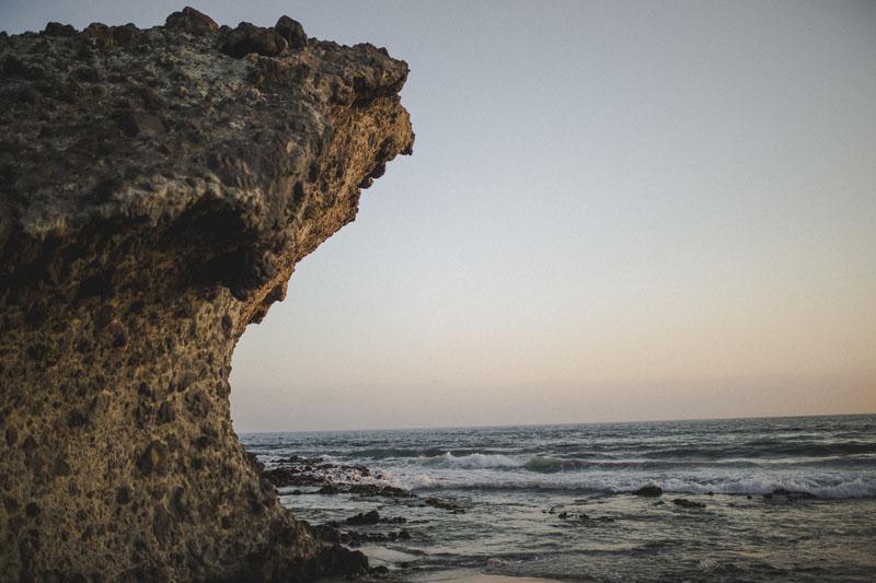Lili + Javi (Playa de Mónsul - Almería)
